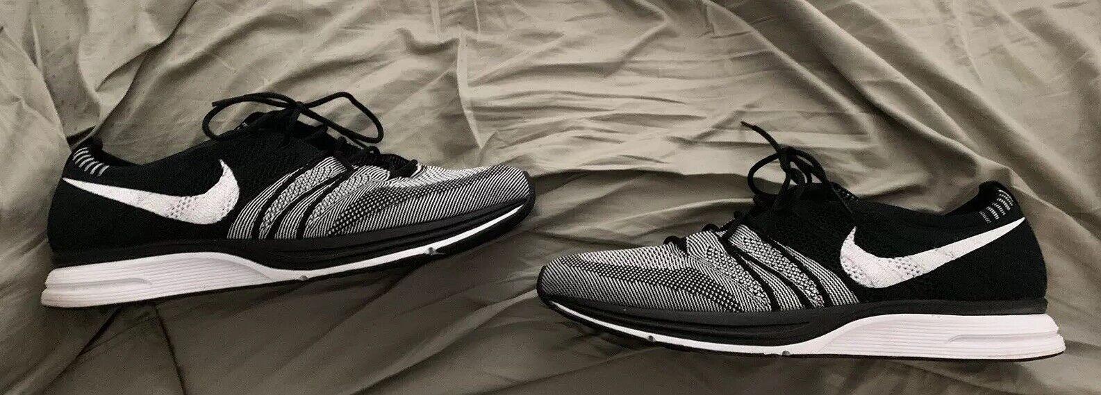 Bnwob Nike fliegenstrick Trainer 1 Oreo schwarz Weiß Größe 13 Jordan