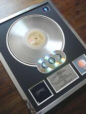 THE CARPENTERS SINGLES LP MULTI PLATINUM DISC RECORD AWARD ALBUM