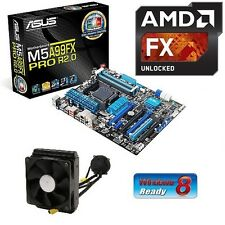 AMD FX 9370 Eight CORE X8 CPU ASUS 990FX ATX MOTHERBOARD LIQUID COOLED COMBO KIT