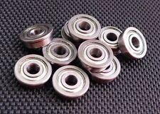 10 Pcs Fr3zz 316 X 12 X 01960 Flange Metal Shielded Ball Bearing Fr3z
