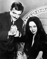 THE ADDAMS FAMILY Carolyn Jones & John Astin as Morticia & Gomez 8X10 PHOTO 1571