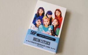 DreamCatcher Photo Mini Post Card 56 Pcs KPOP Goods Dream Catcher DaMi SuA JiYoo