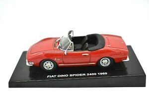 Modello-Auto-Fiat-Dino-Spider-Scala-1-43-Diecast-modellcar-veicoli-statico