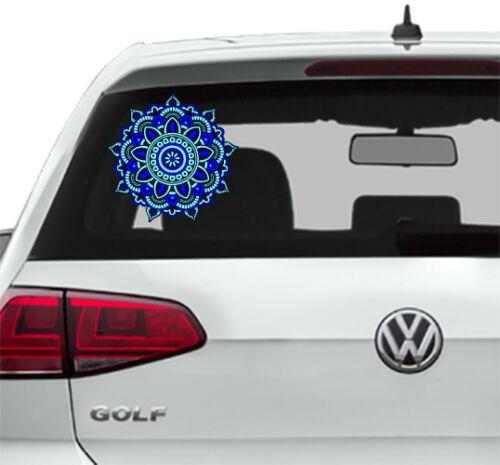 Mandala Car Sticker Car Rear Window Sticker Graphics Decals Mandala Color EM1