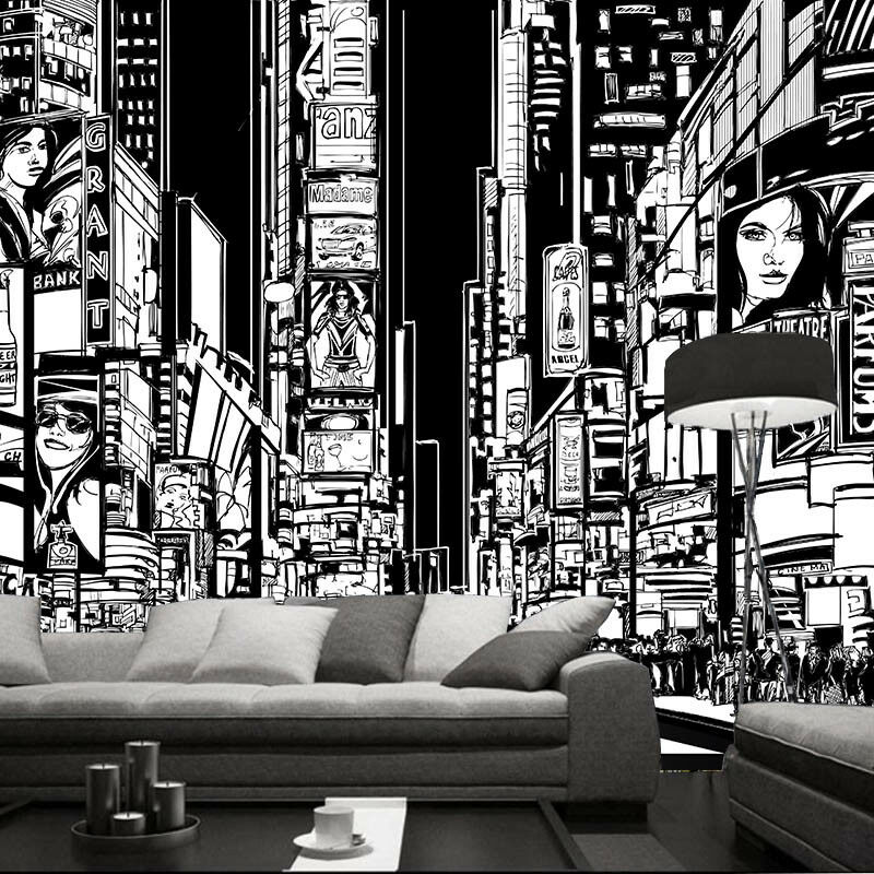 3D Sketch Build 54 Wallpaper Murals Wall Print Wallpaper Mural AJ WALL UK Carly