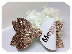 Personalised Large Hair Bow