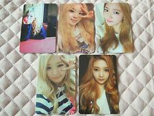 Lot of 5 Red Velvet 1st Mini Album Ice Cream Cake Photocard Full Set KPOP SMTOWN