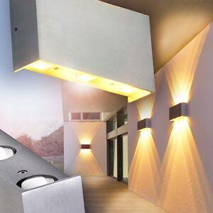 Design Led Wandleuchte Hof Leuchten Wand Lampe Aussen Veranda