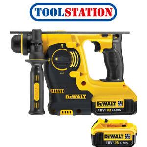 DeWalt-DCH253-18V-XR-Cordless-SDS-Plus-Hammer-Drill-2-x-4-0Ah
