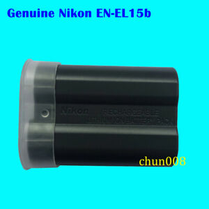 Details about Genuine Nikon EN-EL15b Battery for D850 D7500 D7200 D7300  D750 D610 D810 Z6 Z7