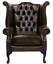 Brand-New-Chesterfield-Queen-Anne-High-Back-Wing-Chair-In-Antique-Real-Leather thumbnail 11