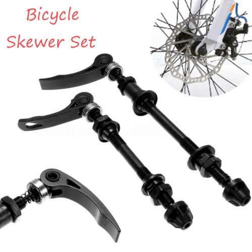 Bicycle Skewer  Front /& Rear Set Hollow Shaft Mountain Bike Quick Release  H1