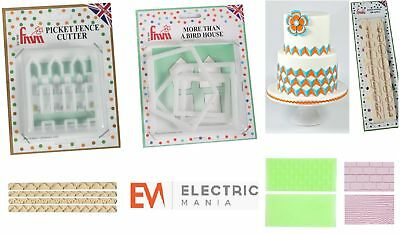 Trend Mark Fmm Cutters Children's Cake Baking Kit 1 Icing Fondant Cutting Sugarcraft Tools Attractive Designs; Cookie Cutters