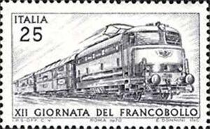 # ITALIA ITALY - 1970 - 25 Lire - Francobollo - Treno Train Railway Stamp MNH - Italia - # ITALIA ITALY - 1970 - 25 Lire - Francobollo - Treno Train Railway Stamp MNH - Italia