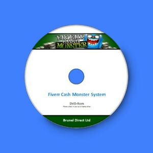 Work From Home Business Earn Make Money With Fiverr Cash Monster