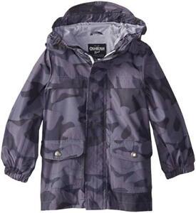 Osh Kosh B/'gosh Boys Blue Jersey Lined Jacket Size 4 5//6 7