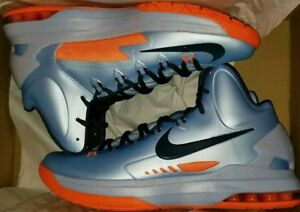 cf2aac811ad4 Nike KD V 5 Ice Blue size 10.5 all star easter bhm wtkd xmas elite ...
