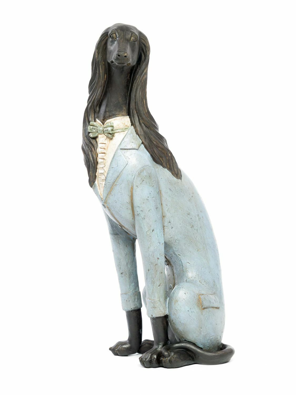 Skulptur Windhund Hund Figur 55cm 55cm 55cm HundeFigur Sakko sculpture grauhound whippet a968e7