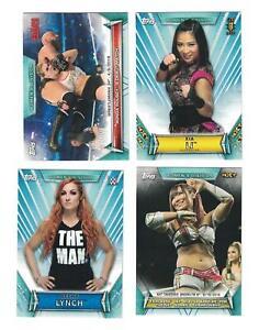 2019-Topps-WWE-Women-039-s-Division-Complete-Set-100-TONI-STORM-IO-SHIRAI-ROOKIE