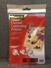 Scotch 3m 20 5 X 7 Thermal Laminating Pouches Gloss Model Tp5903 20
