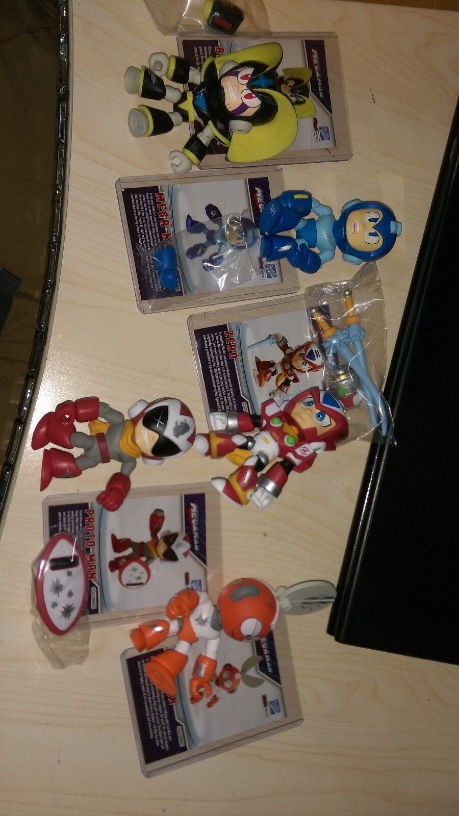 The Loyal Subjects Mega Man Battle Damage Walmart Set of 6