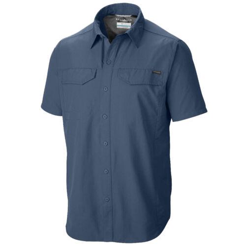 "New Mens Columbia /""Silver Ridge/"" Vented Omni-Wick Short Sleeve Shirt Big/&Tall"