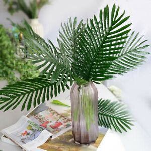 Am-Fake-Plants-Artificial-Greenery-Tropical-Shrubs-Monstera-Palm-Leaves-Home-Wi