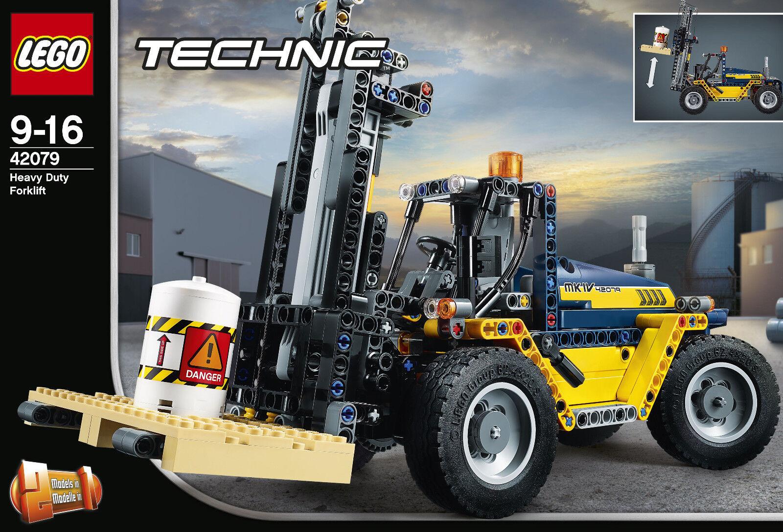 negozio online LEGO ® Technic 42079-pesanti-autorelli elevatori, elevatori, elevatori, Nuovo Scatola Originale  ecco l'ultimo
