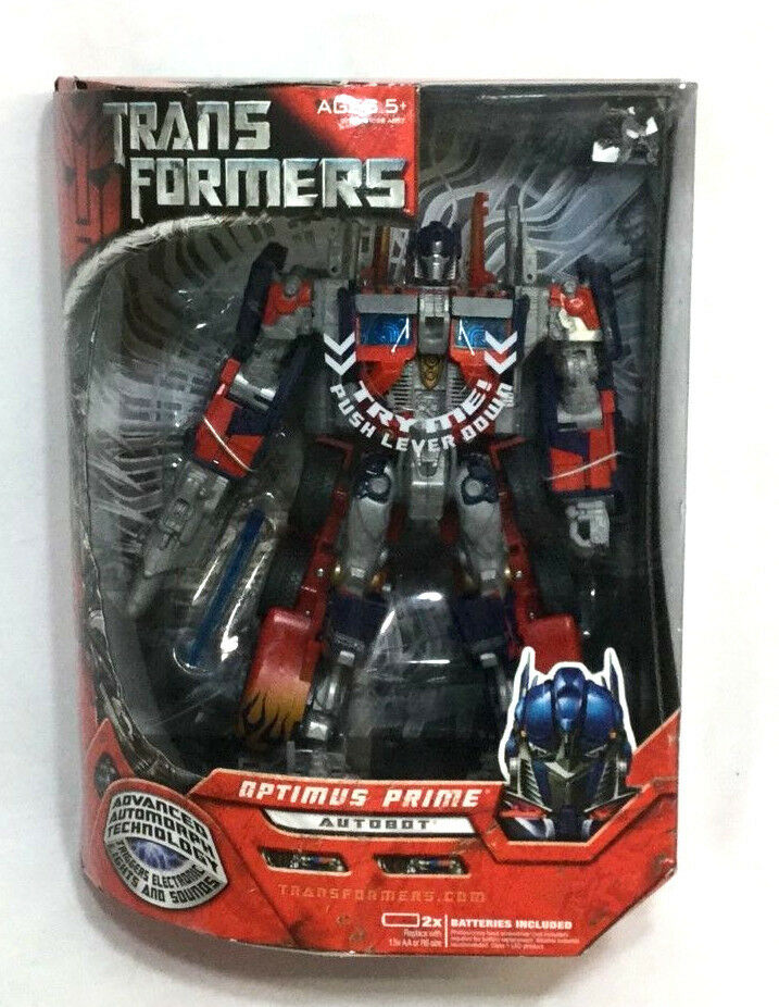 2007 Movie Transformers Optimus Prime Leader Class Boxed MIB Sealed FREESHIP