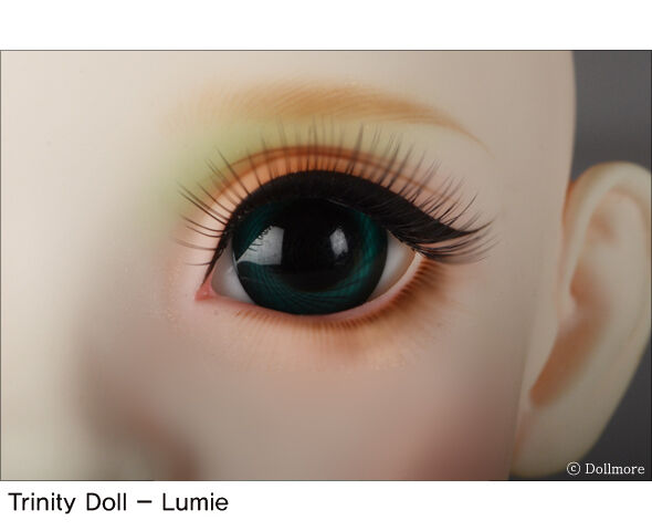 Dollmore 30mm Solid Glass Eyes Doll Eyes Glass (46(B)) 946834