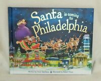 Santa Is Coming To Philadelphia, Pennsylvania Childrens Christmas Book