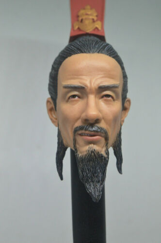 1//6 scale Romance Of The Three Kingdoms Smile Sima Yi HEAD SCULPT