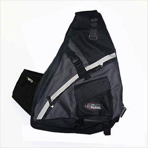 Black-Sling-Bag-Travel-Backpack-Wear-Over-Shoulder-Crossbody