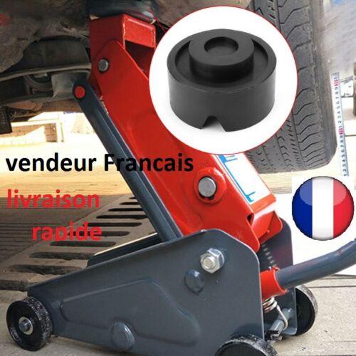 Bloc de Caoutchouc pour Cric Levage Automobile Tampon Hydraulique Auto Voiture