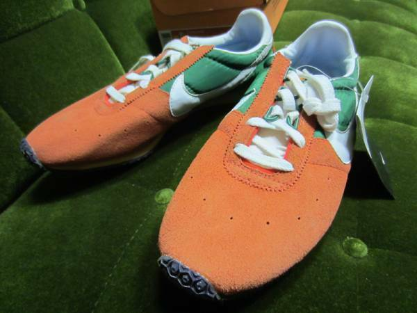 NIKE STING VNTG Men's Sneakers shoes orange Greeen Size US 9 1 2 Authentic
