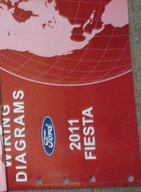 2011 Ford Fiesta Electrical Wiring Diagram Manual Ewd Oem