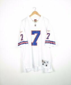 NFL-Reebok-Throwback-Denver-Broncos-John-Elway-7-Football-Jersey-Mens-Size-XL