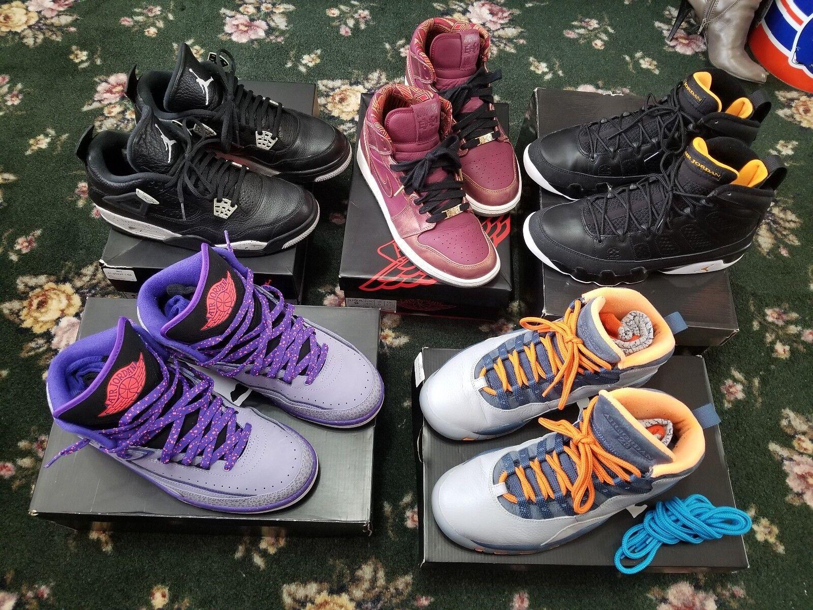 Nike air jordan retrò ii iv ix x db bin yeezy xi nmd 41