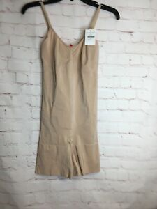 Inventive Nwt Spanx Oncore Firm Control Bodysuit Nude Ss1715 Sz Medium $98 Special Buy