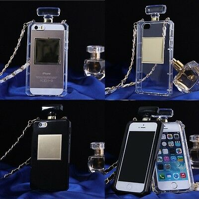 Perfume Bottle Handbag Fragrant Soft Case Chain Cover For Various Phones