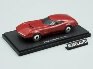 Autocult-1-43-Dodge-Charger-III-red-1968-USA-L-E-333-pcs