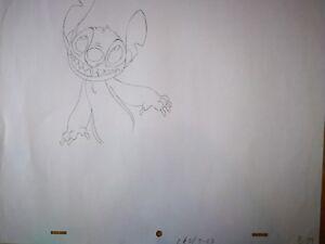 85 Lilo 'stitch' Drawing Cel Walt Animation Tv Disney Art Stitch Production ABBg4vq6