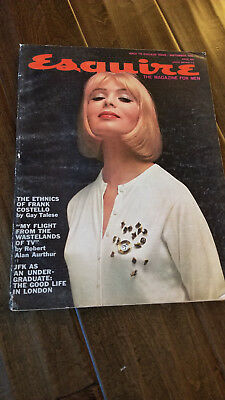 1961 September Esquire Magazin Back To College Ausgabe Jfk Talese No Label Nice