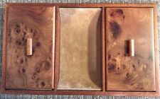 Vintage Agresti Men's Burl Wood Jewel Box/Valet - Made In Italy