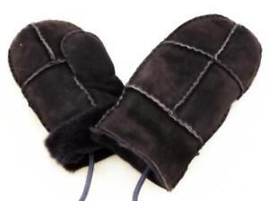 Baby und Kleinkinder Lammfell Fäustlinge Handschuhe Fäustel mit Daumen