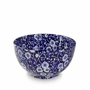 Burleigh Blue Calico Sugar Bowl 12 Cm-afficher Le Titre D'origine Distinctive Pour Ses PropriéTéS Traditionnelles