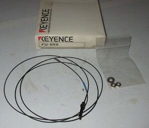 New-In-Box-KEYENCE-Fiber-Optic-Sensor-FU-69X-FU69X-Cable-Cord-FU-69-X-NO-PARTS