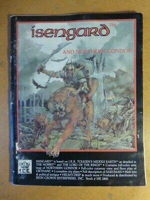Isengard Merp Ice Il Signore Degli Anelli Rolemaster Centro Della Terra No Carta-mostra Il Titolo Originale