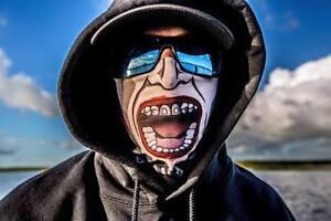 2 PACK Salt Armour SA Jack Face Shield Fishing Sun Mask Balaclava Neck Gaiter