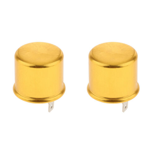 2Pin Prong Terminal Relay Electronic Flasher 12 Volt Led Turn Signal Lights